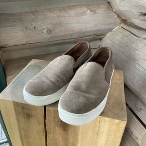 Vince suede slip on sneakers